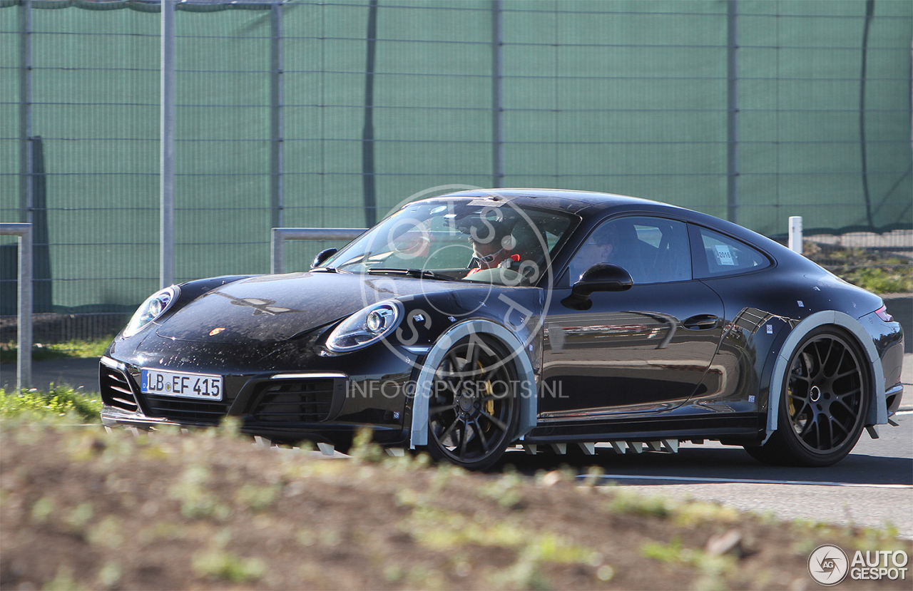 Porsche 992 Carrera 4s Mule 27 April 2016 Autogespot