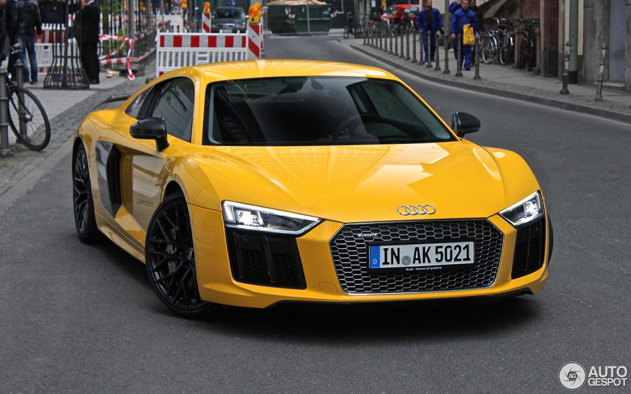 Audi R8 V10 Plus 2015 28 April 2016 Autogespot