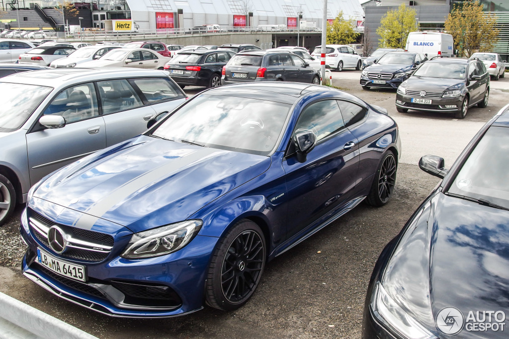 Mercedes Benz Of San Francisco >> C63 S AMG Edition 1 Coupe, Silver or Blue - MBWorld.org Forums
