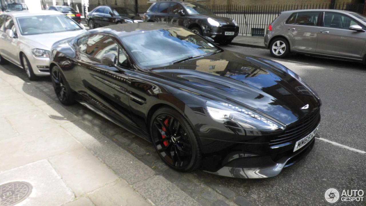 Aston Martin Vanquish Black