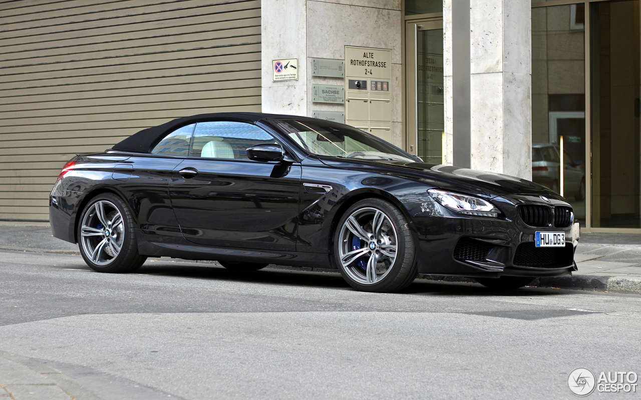 bmw m6 f12 cabriolet 30 april 2016 autogespot. Black Bedroom Furniture Sets. Home Design Ideas