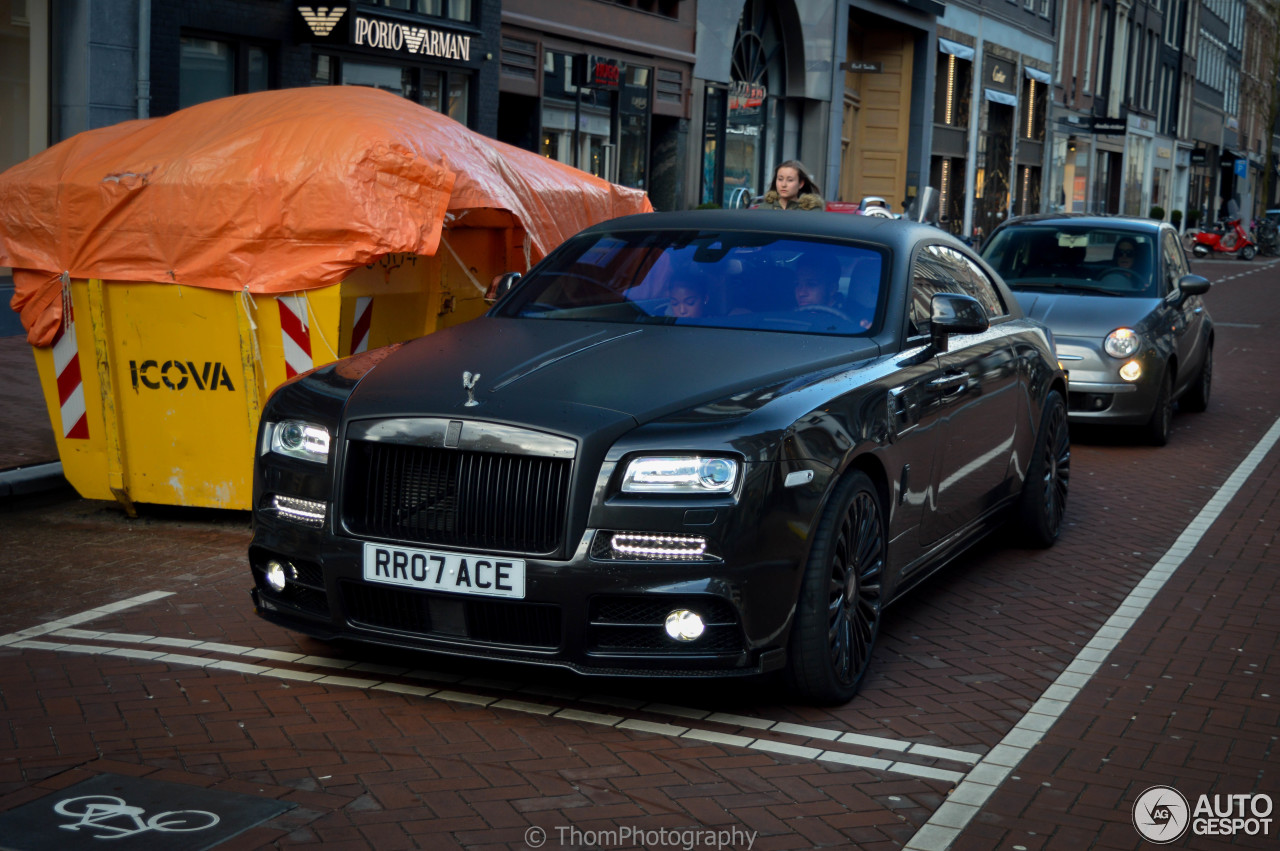 Rolls Royce Mansory Wraith 1 May 2016 Autogespot