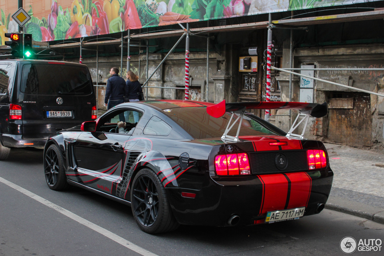 Ford Mustang Shelby GT500 Red Stripe Limited Edition - 2 ...