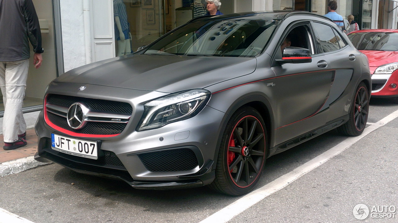 Mercedes Benz Gla 45 Amg Edition 1 2 May 2016 Autogespot