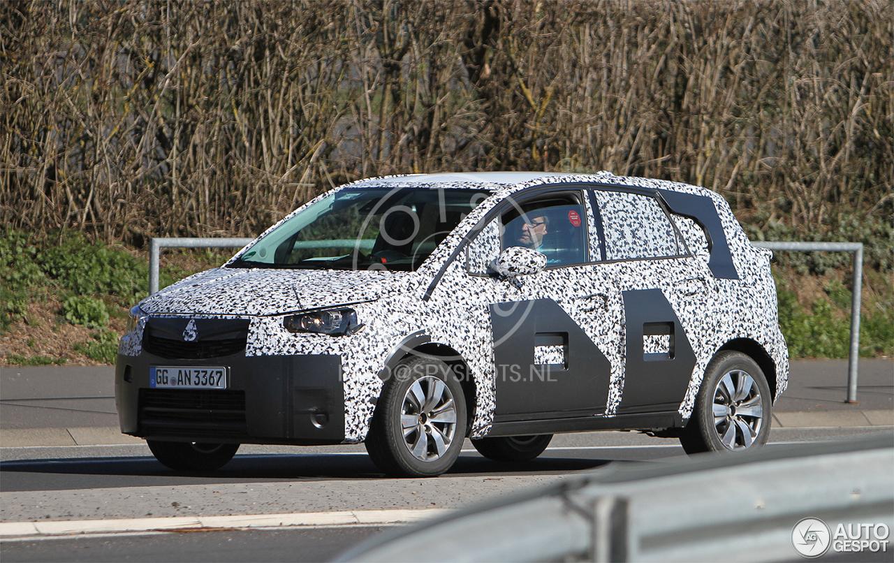 Opel Meriva 2017 - 3 May 2016 - Autogespot