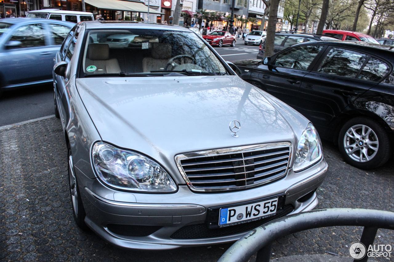Mercedes benz s 55 amg w220 kompressor 4 may 2016 for Mercedes benz amg kompressor