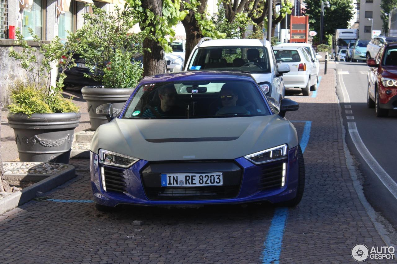 Audi R Etron May Autogespot - Audi r8 e tron