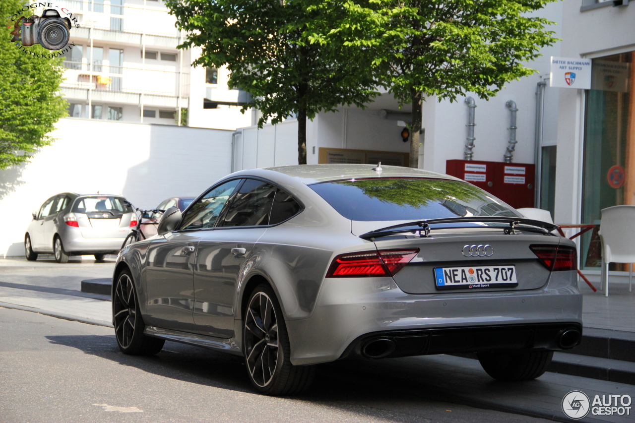 audi rs7 sportback 2015 performance 6 may 2016 autogespot. Black Bedroom Furniture Sets. Home Design Ideas
