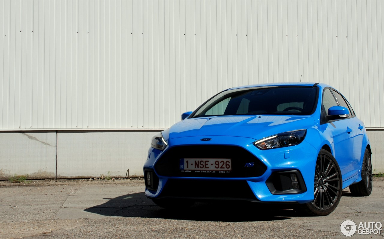 ford focus rs 2015 6 may 2016 autogespot. Black Bedroom Furniture Sets. Home Design Ideas