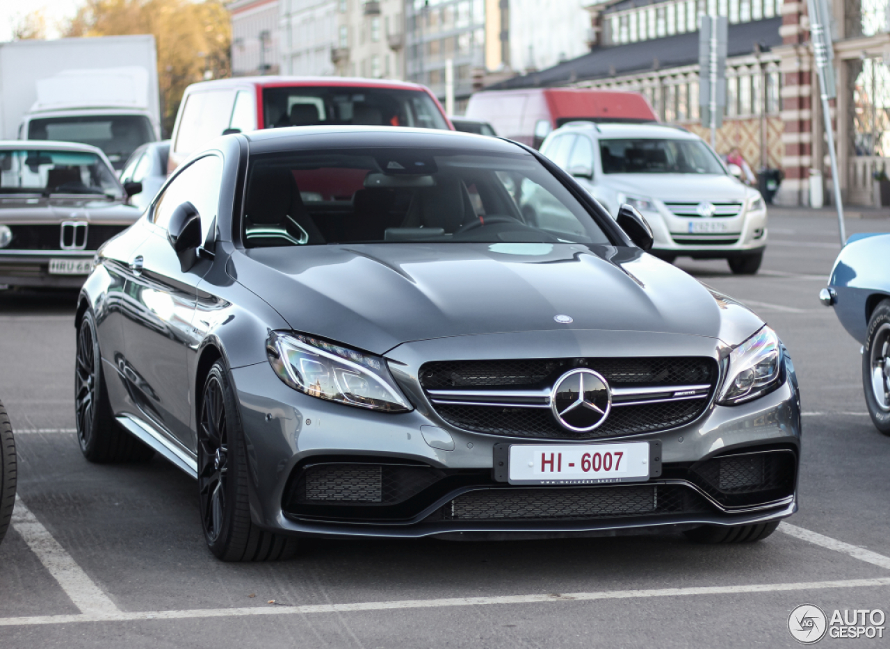 mercedes amg c 63 s coup c205 6 mai 2016 autogespot. Black Bedroom Furniture Sets. Home Design Ideas