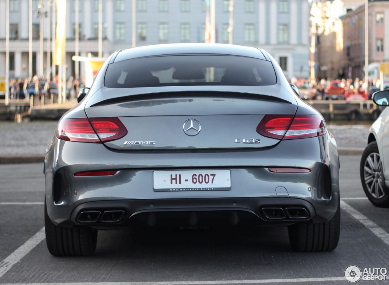 2017 C63 Amg Coupe Price >> Mercedes-AMG C 63 S Coupé C205 - 6 Mai 2016 - Autogespot