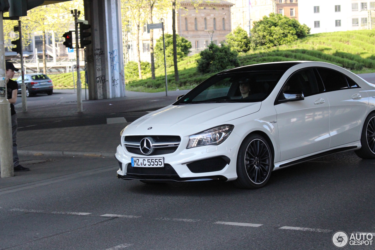mercedes benz cla 45 amg c117 7 may 2016 autogespot. Black Bedroom Furniture Sets. Home Design Ideas