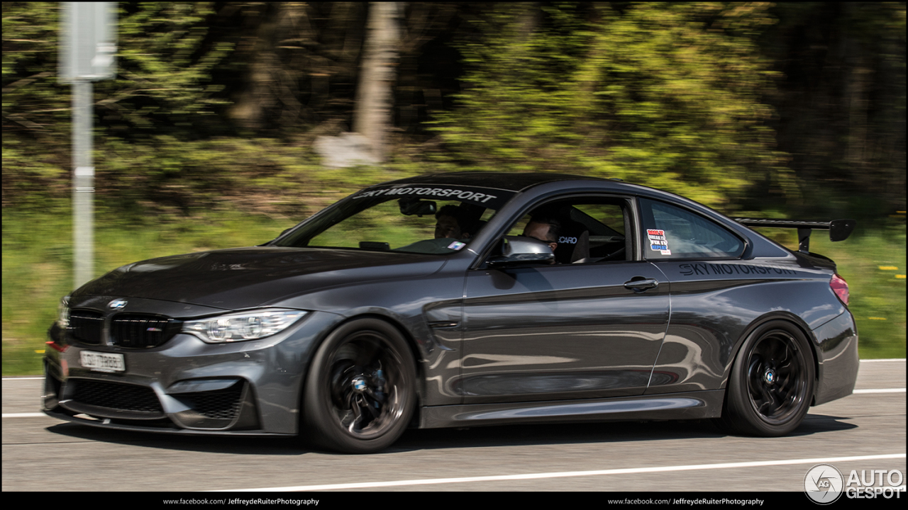 bmw m4 f82 coup by sky motorsport 8 may 2016 autogespot. Black Bedroom Furniture Sets. Home Design Ideas