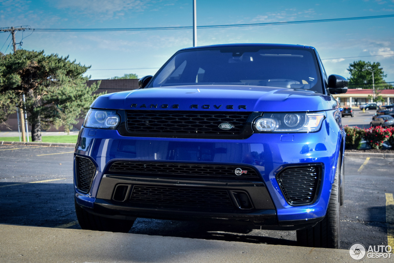 land rover range rover sport svr 9 may 2016 autogespot. Black Bedroom Furniture Sets. Home Design Ideas