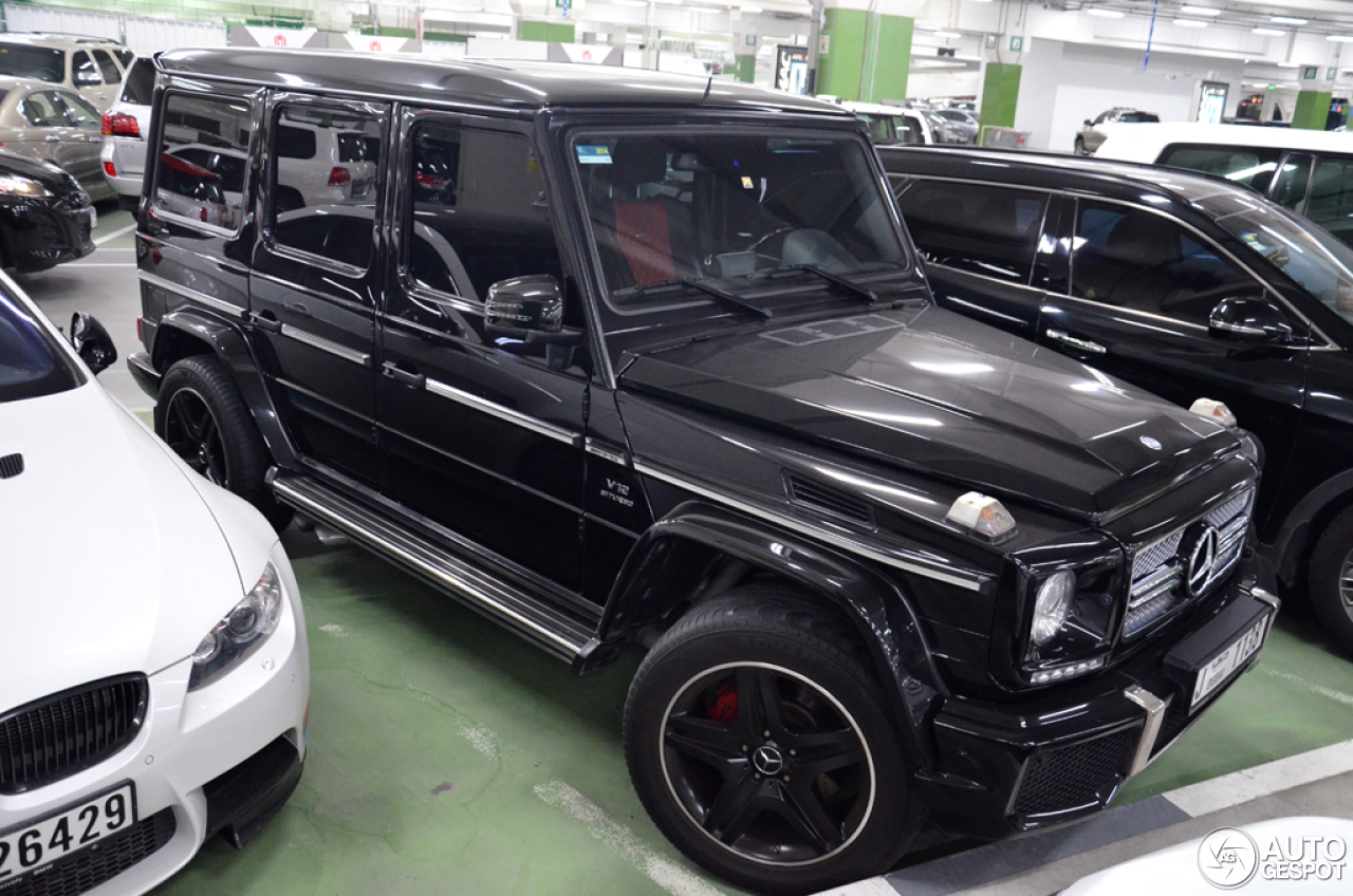 Mercedes benz g 65 amg 12 may 2016 autogespot for Mercedes benz 65