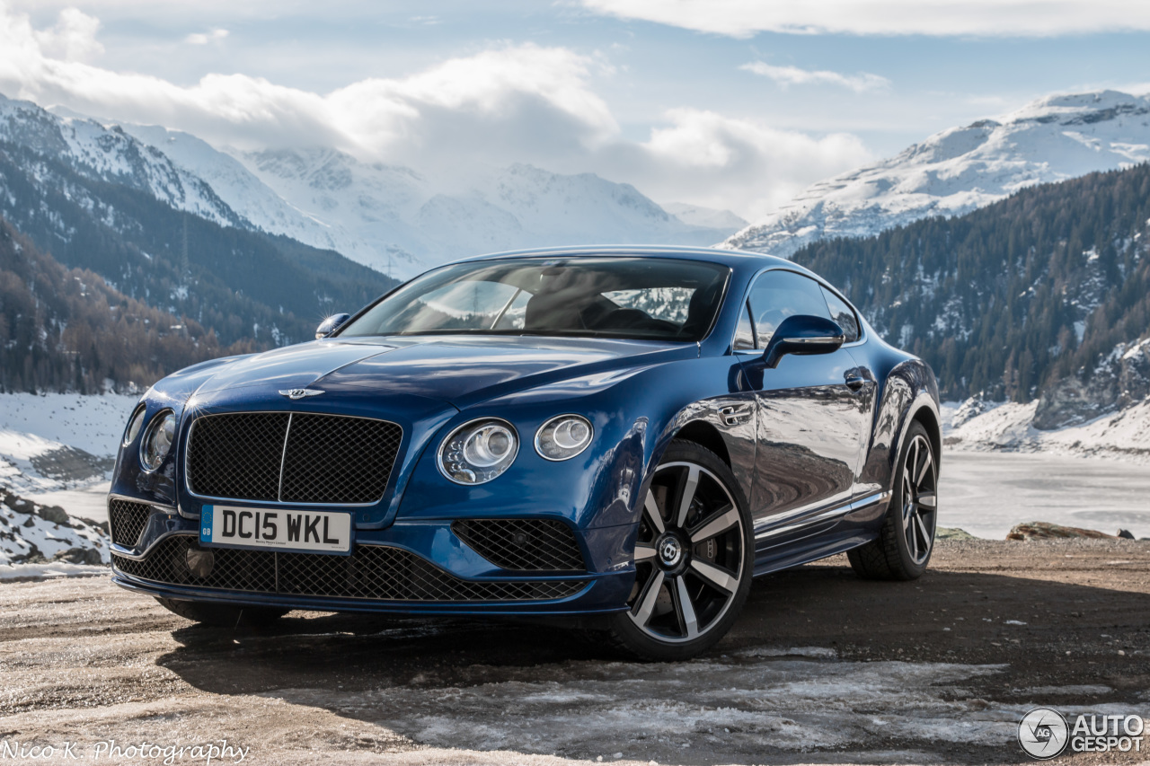 bentley continental gt speed 2016 14 may 2016 autogespot. Cars Review. Best American Auto & Cars Review