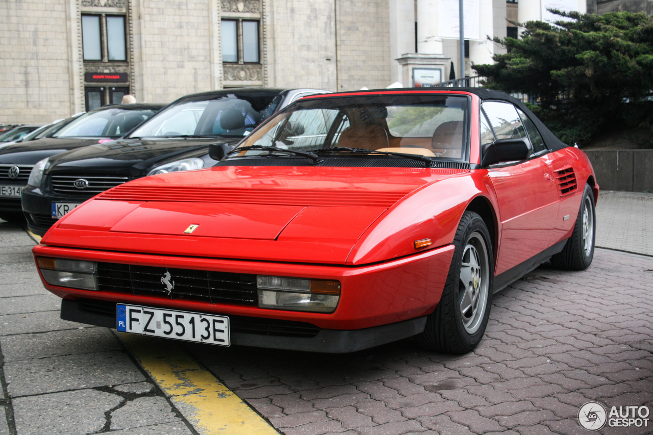 ferrari mondial t cabriolet 14 maj 2016 autogespot. Black Bedroom Furniture Sets. Home Design Ideas