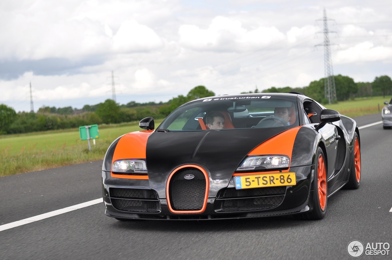 bugatti veyron 16 4 grand sport vitesse world record car edition 15 may 201. Black Bedroom Furniture Sets. Home Design Ideas