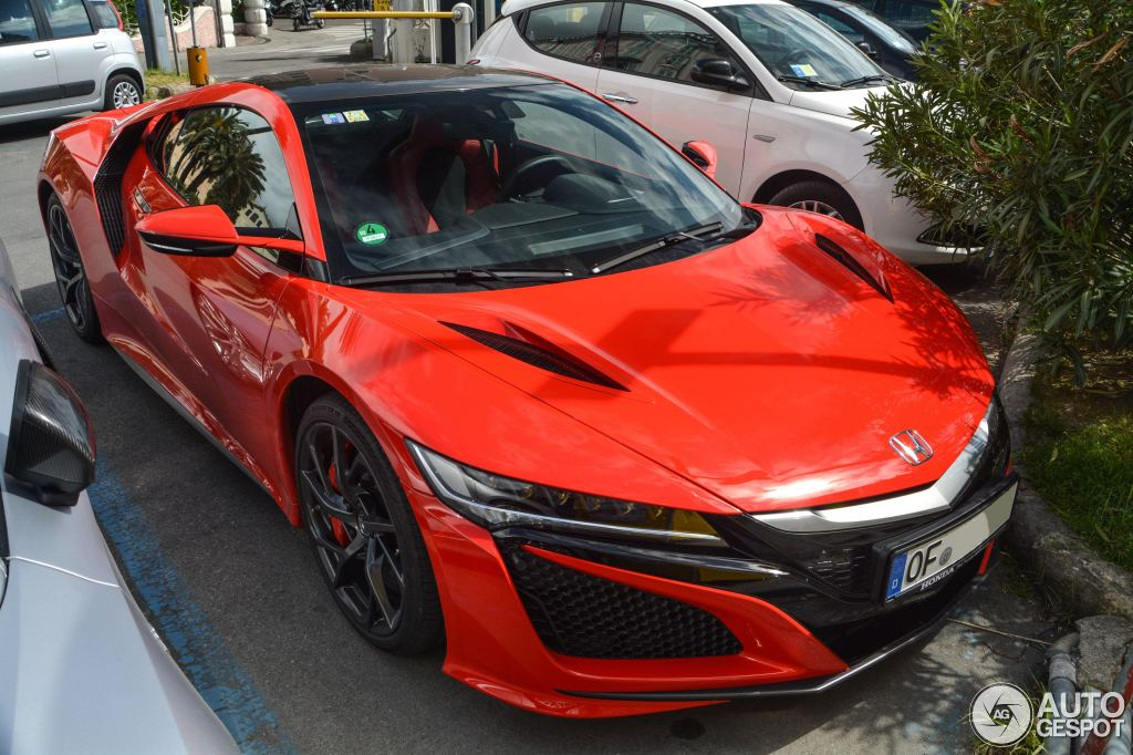 honda nsx 2015 15 may 2016 autogespot. Black Bedroom Furniture Sets. Home Design Ideas