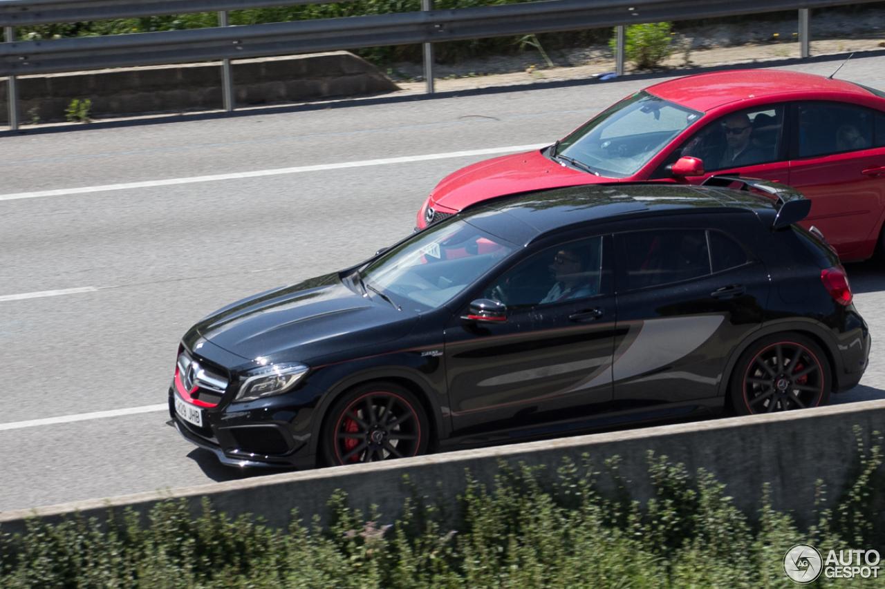 Mercedes benz gla 45 amg edition 1 16 may 2016 autogespot for Mercedes benz gla 45 amg price