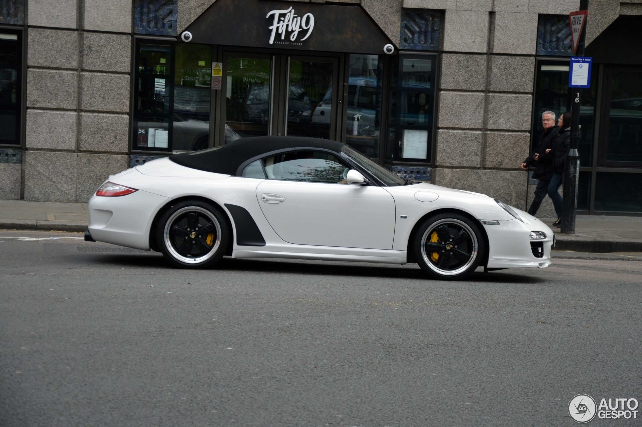 Porsche 997 Speedster 16 May 2016 Autogespot