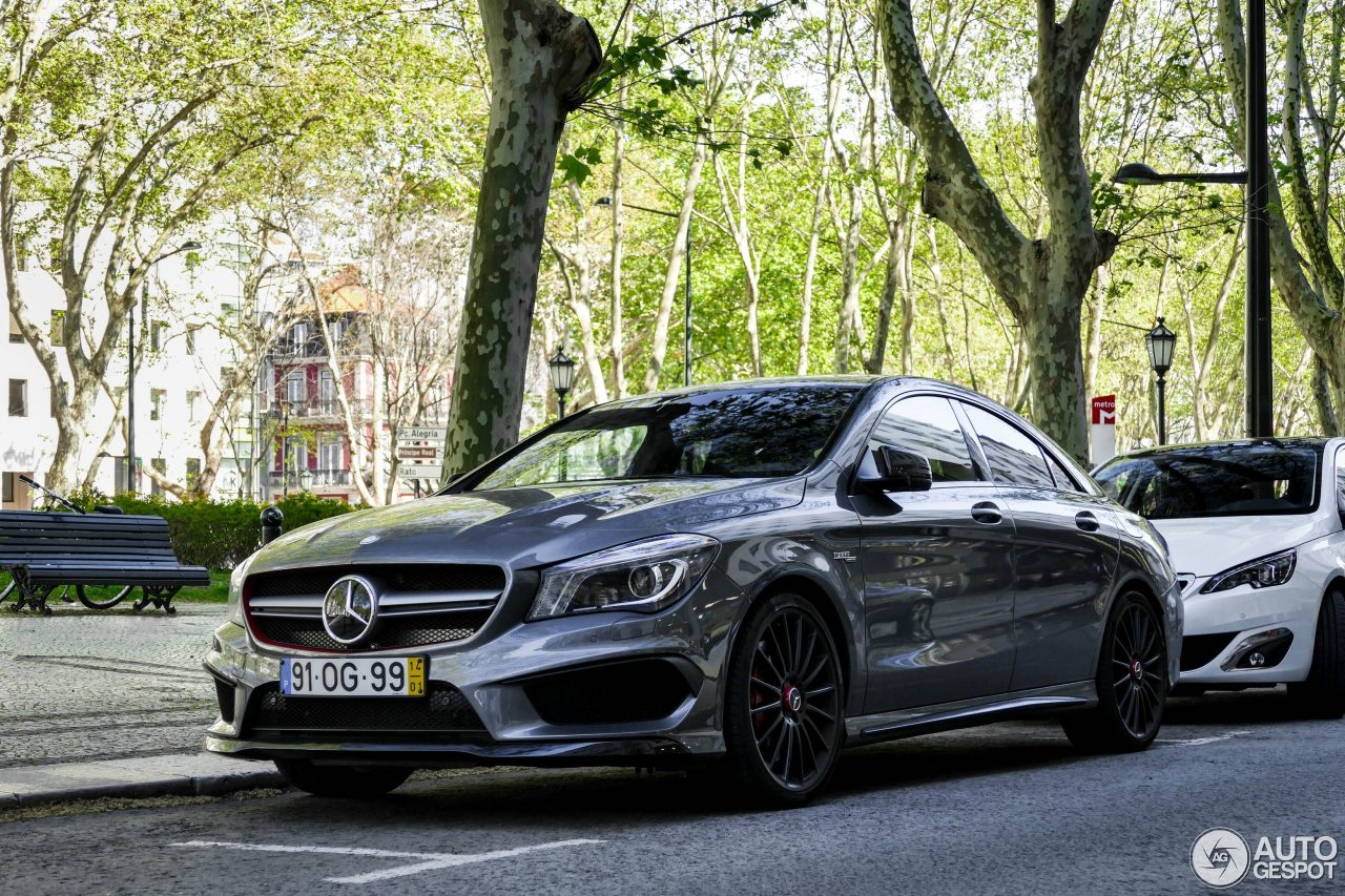 mercedes benz cla 45 amg edition 1 c117 18 may 2016 autogespot. Black Bedroom Furniture Sets. Home Design Ideas