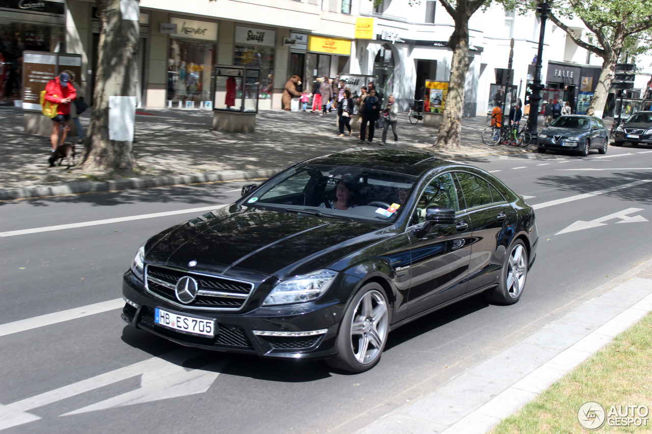 Mercedes benz cls 63 amg c218 18 may 2016 autogespot for Mercedes benz cls 63 amg price