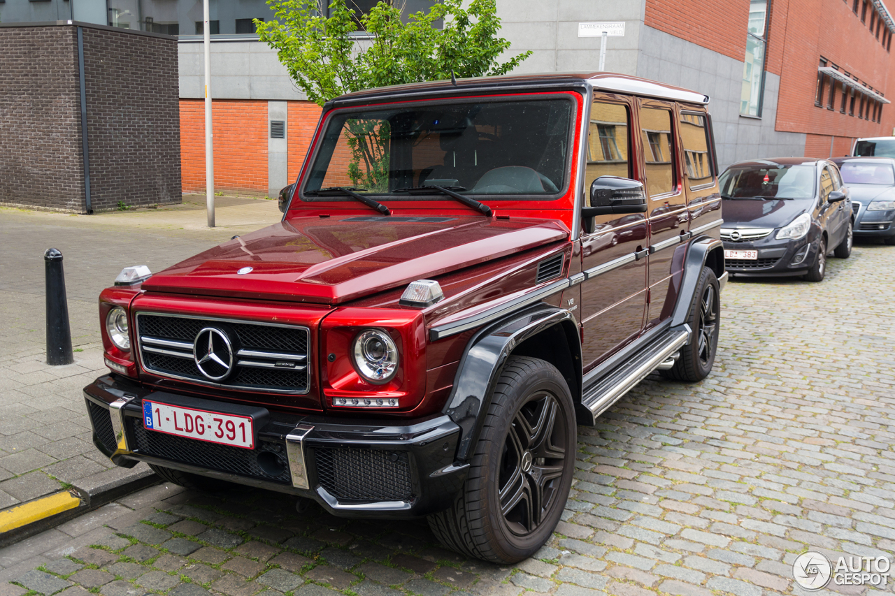 Mercedes Benz G 63 Amg Crazy Color Edition 18 May 2016
