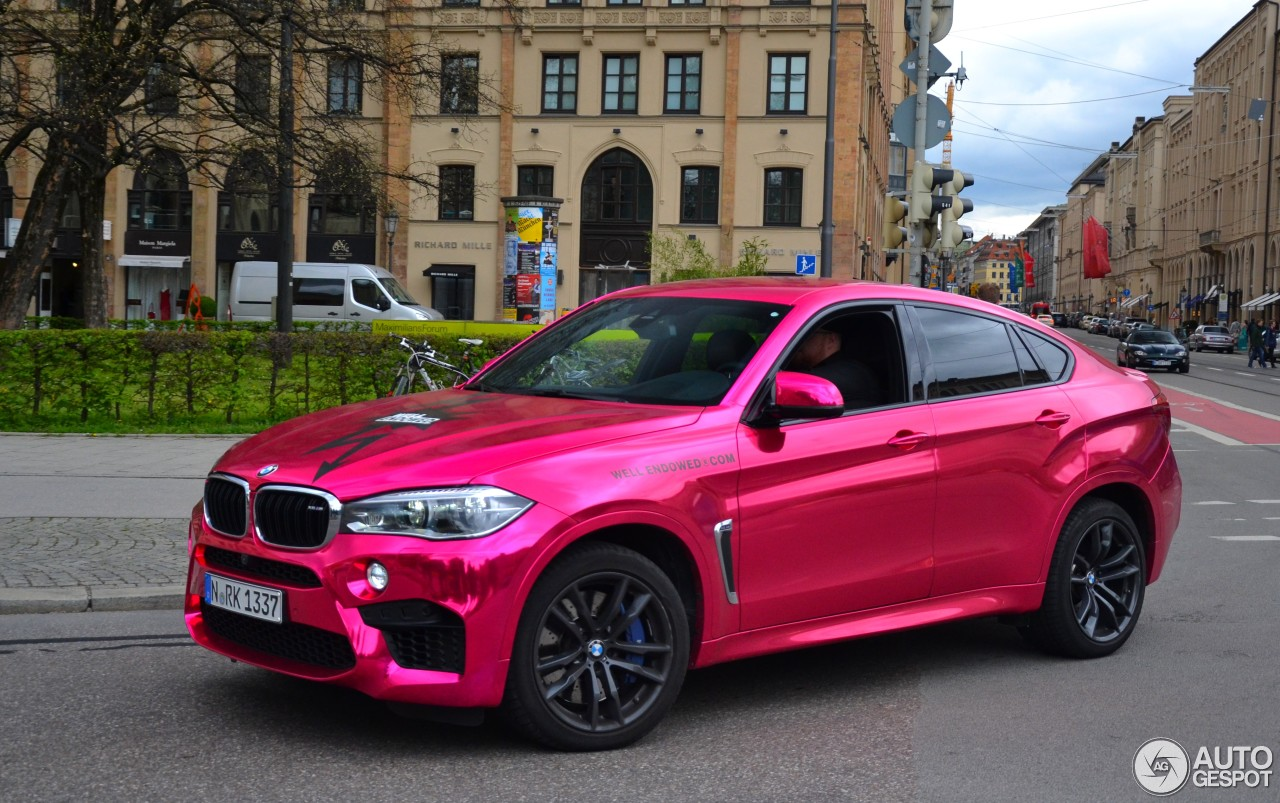 bmw x6 m f86 19 may 2016 autogespot. Black Bedroom Furniture Sets. Home Design Ideas