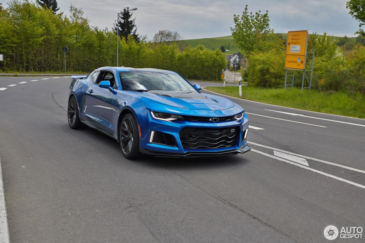 Chevrolet Camaro Zl1 2016 20 May 2016 Autogespot