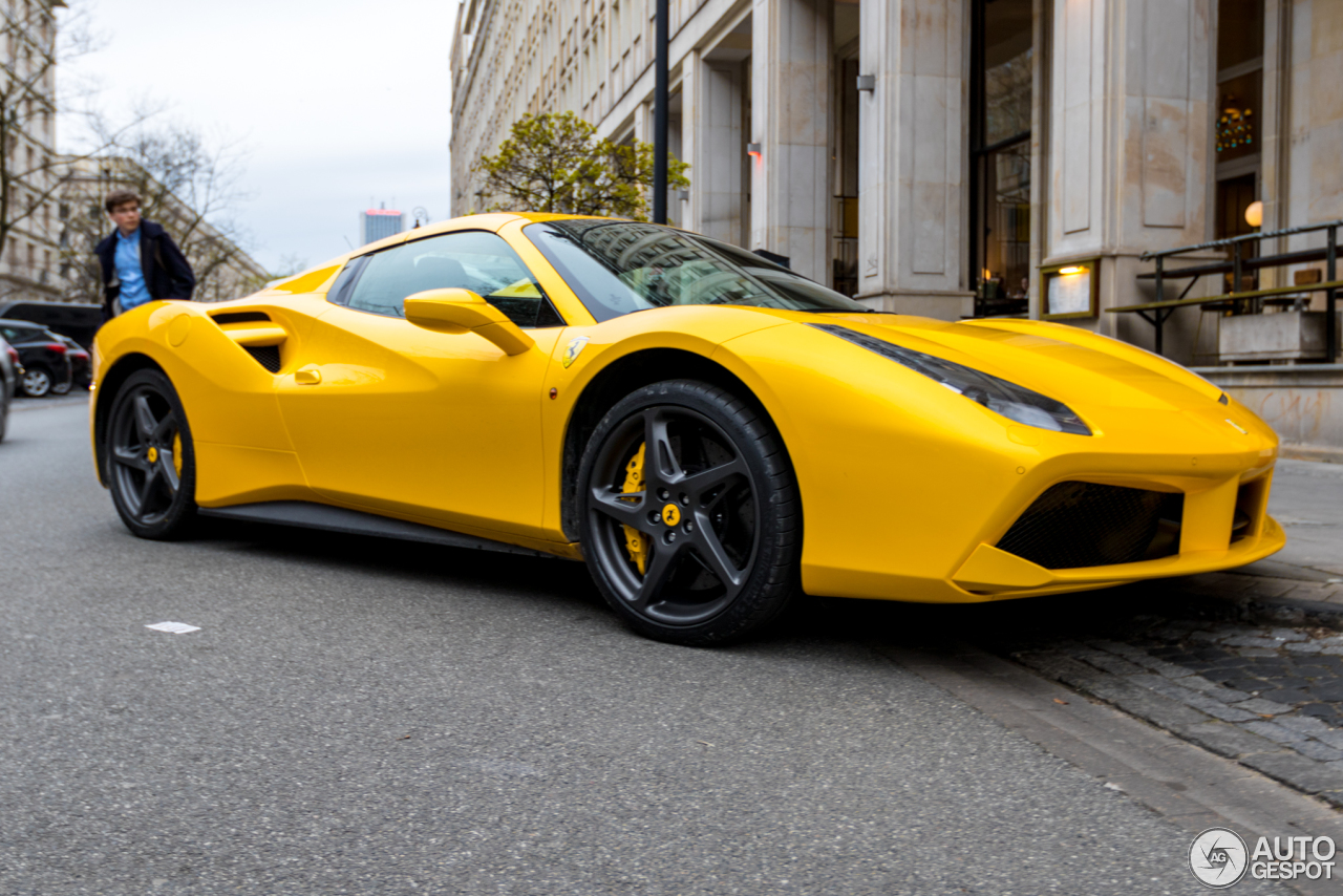 ferrari 488 spider 20 may 2016 autogespot. Black Bedroom Furniture Sets. Home Design Ideas