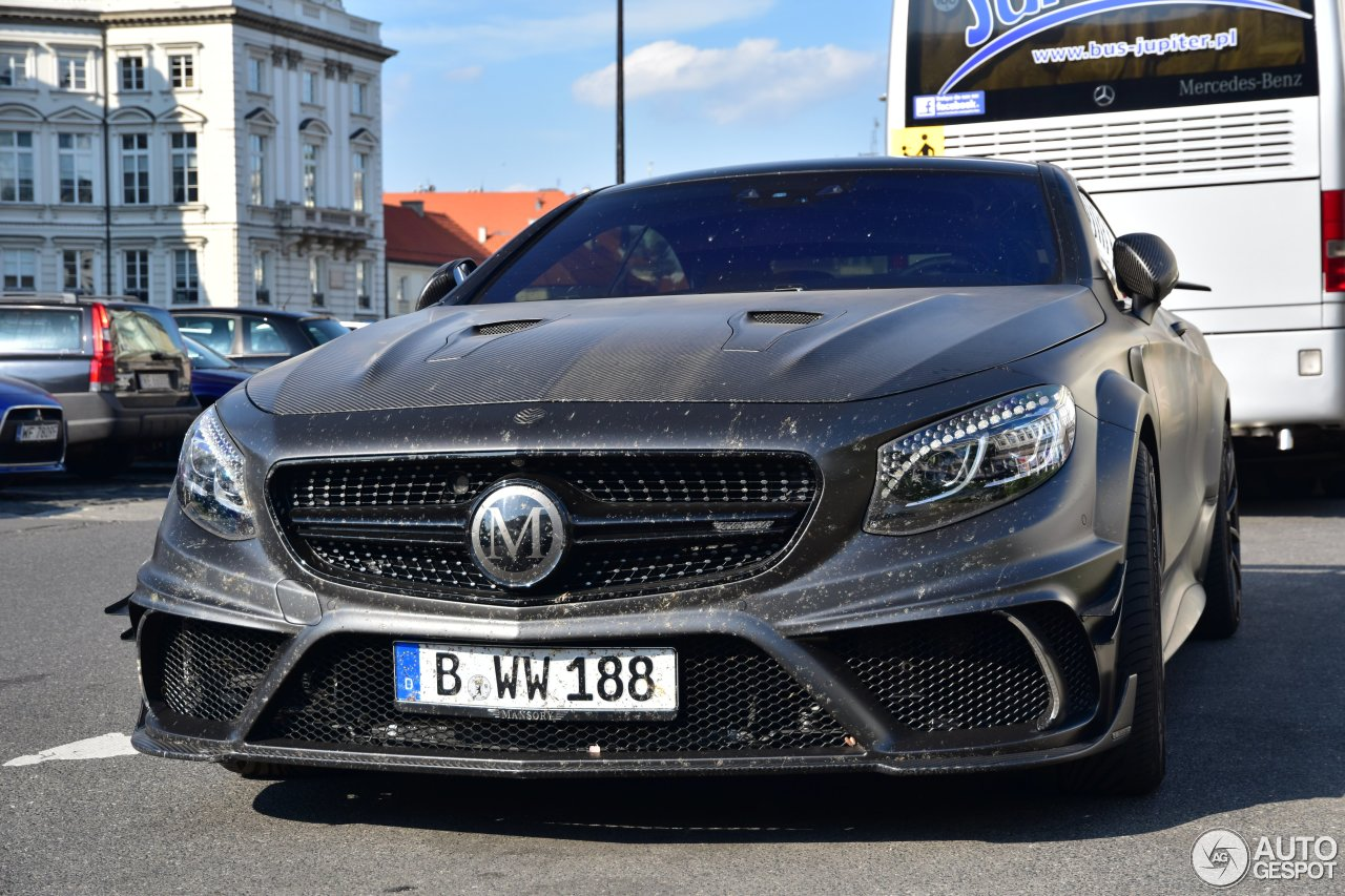Mercedes benz mansory s 63 amg coupe black edition 22 for Mercedes benz black edition
