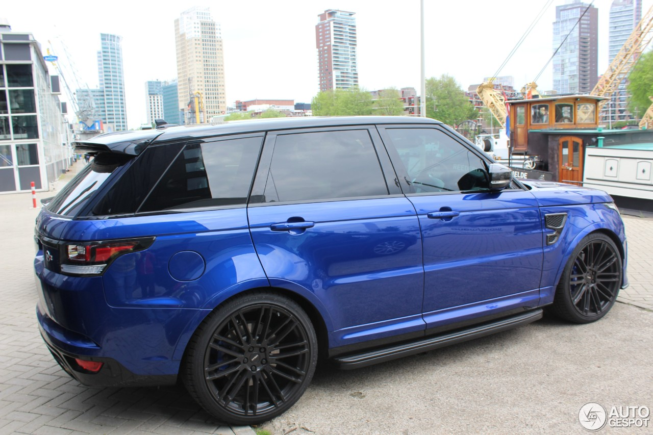 Land Rover Urban Range Rover Sport SVR - 23 May 2016 ...