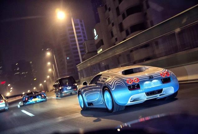 Bugatti Veyron 16.4 Super Sport Ting & Tiger