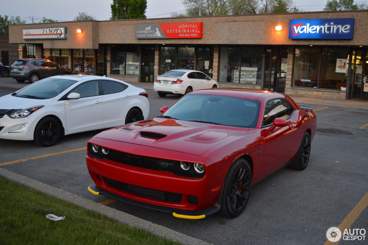 Green Hellcat For Sale >> Dodge Challenger SRT-8 Hellcat - 26 May 2016 - Autogespot