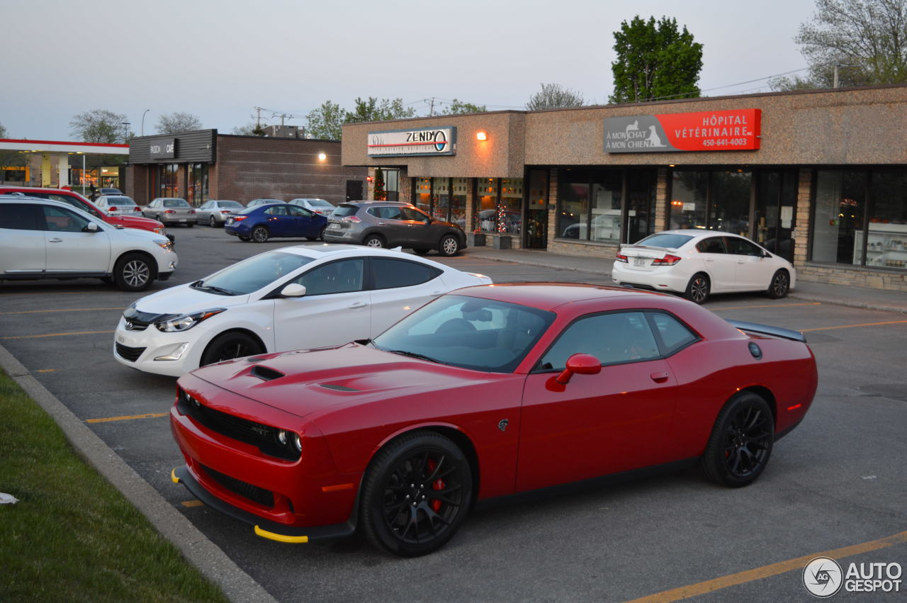 Dodge Challenger Srt 8 Hellcat 26 May 2016 Autogespot