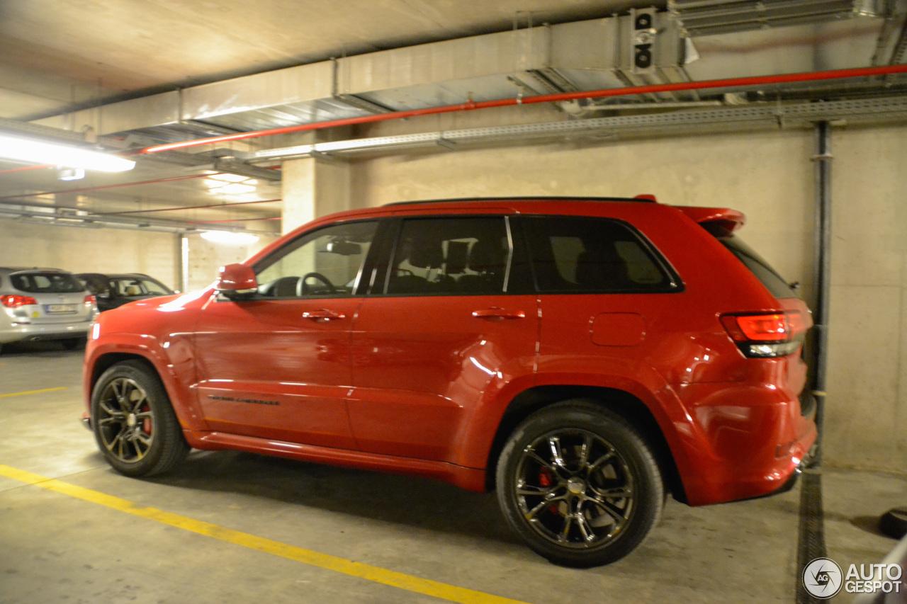 Jeep Grand Cherokee Srt 8 2014 Red Vapor Edition 26 May