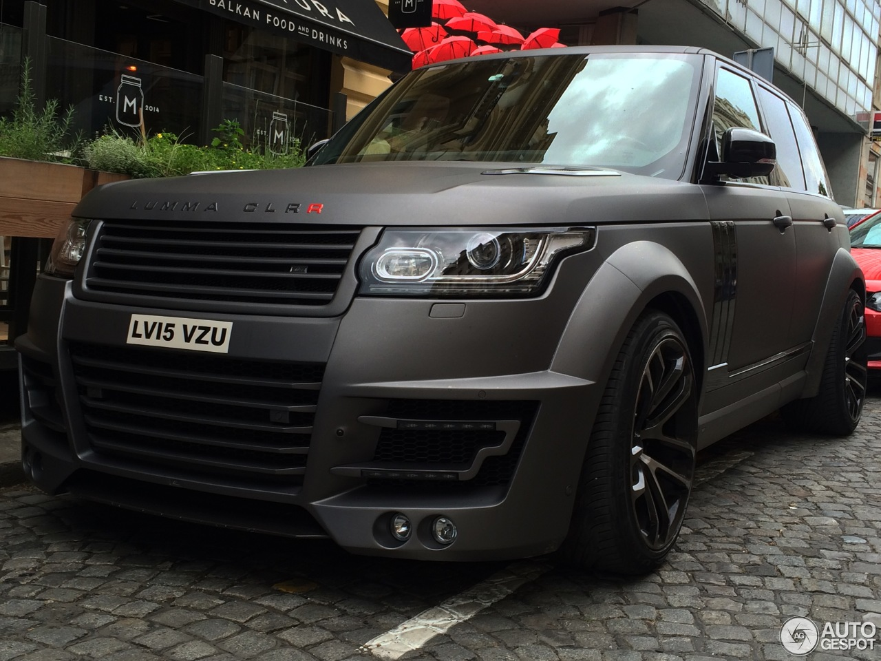 Land Rover Range Rover Lumma Clr R 26 May 2016 Autogespot