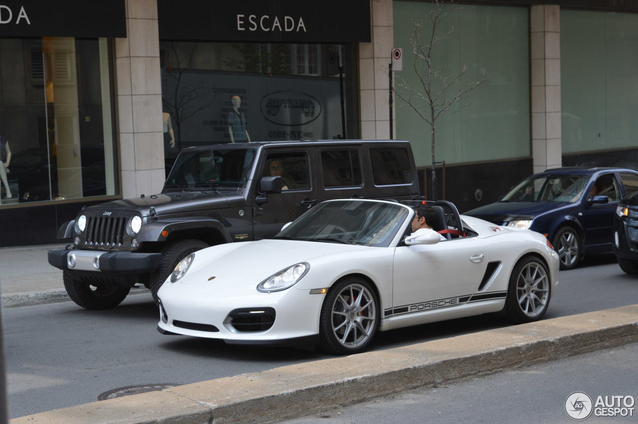 porsche boxster spyder 26 may 2016 autogespot. Black Bedroom Furniture Sets. Home Design Ideas