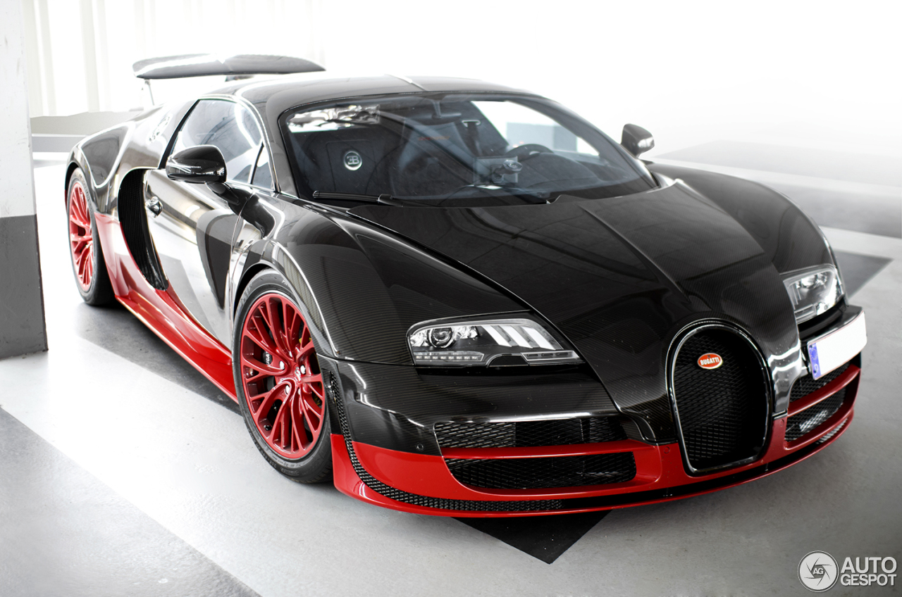 Pink bugatti veyron super sport - photo#23
