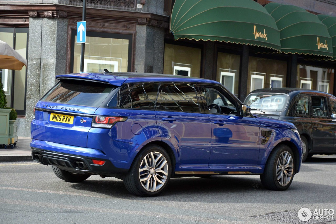 land rover range rover sport svr 27 may 2016 autogespot. Black Bedroom Furniture Sets. Home Design Ideas