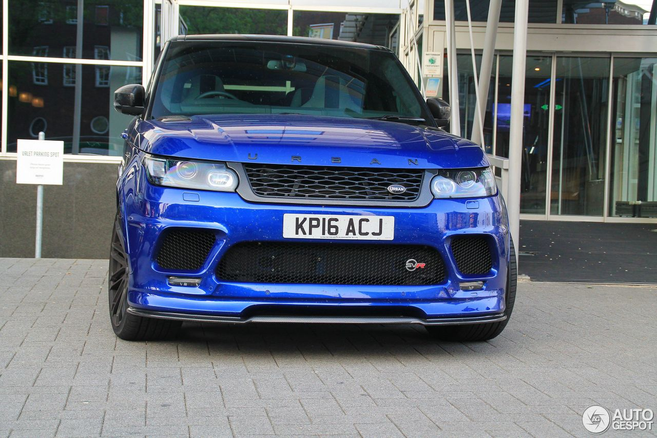 Land Rover Urban Range Rover Sport Svr 27 May 2016