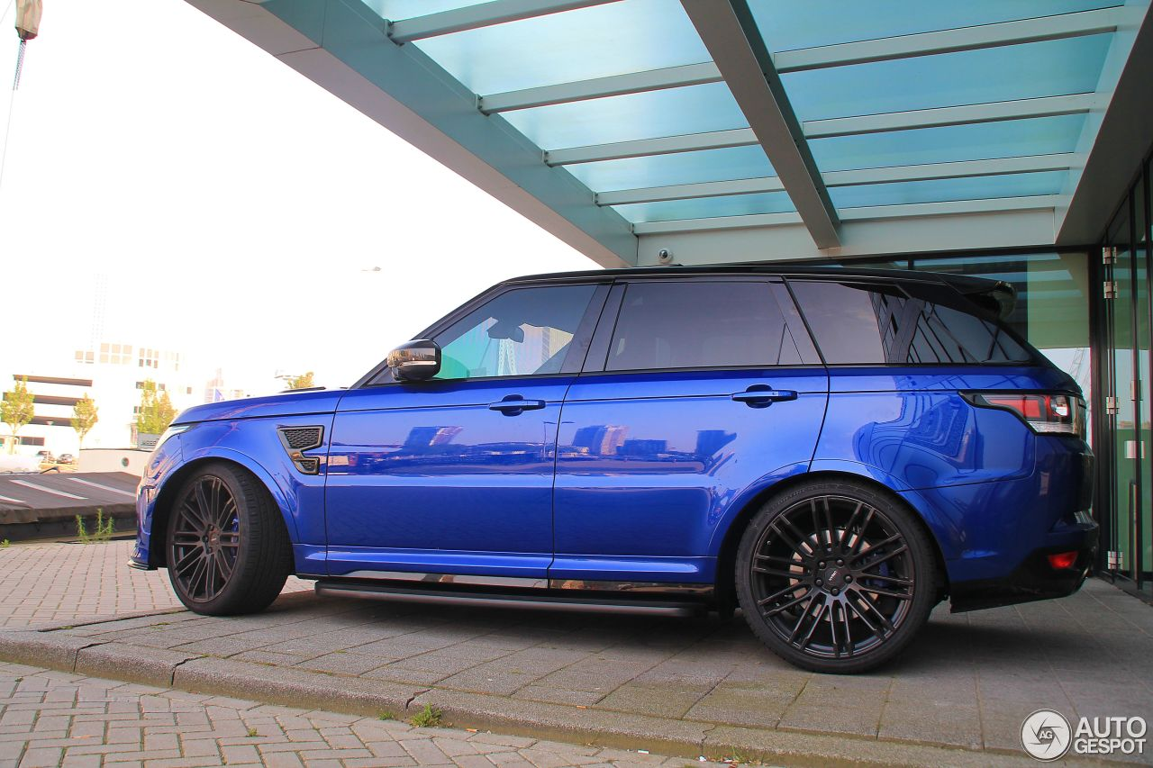 land rover urban range rover sport svr 27 mai 2016. Black Bedroom Furniture Sets. Home Design Ideas