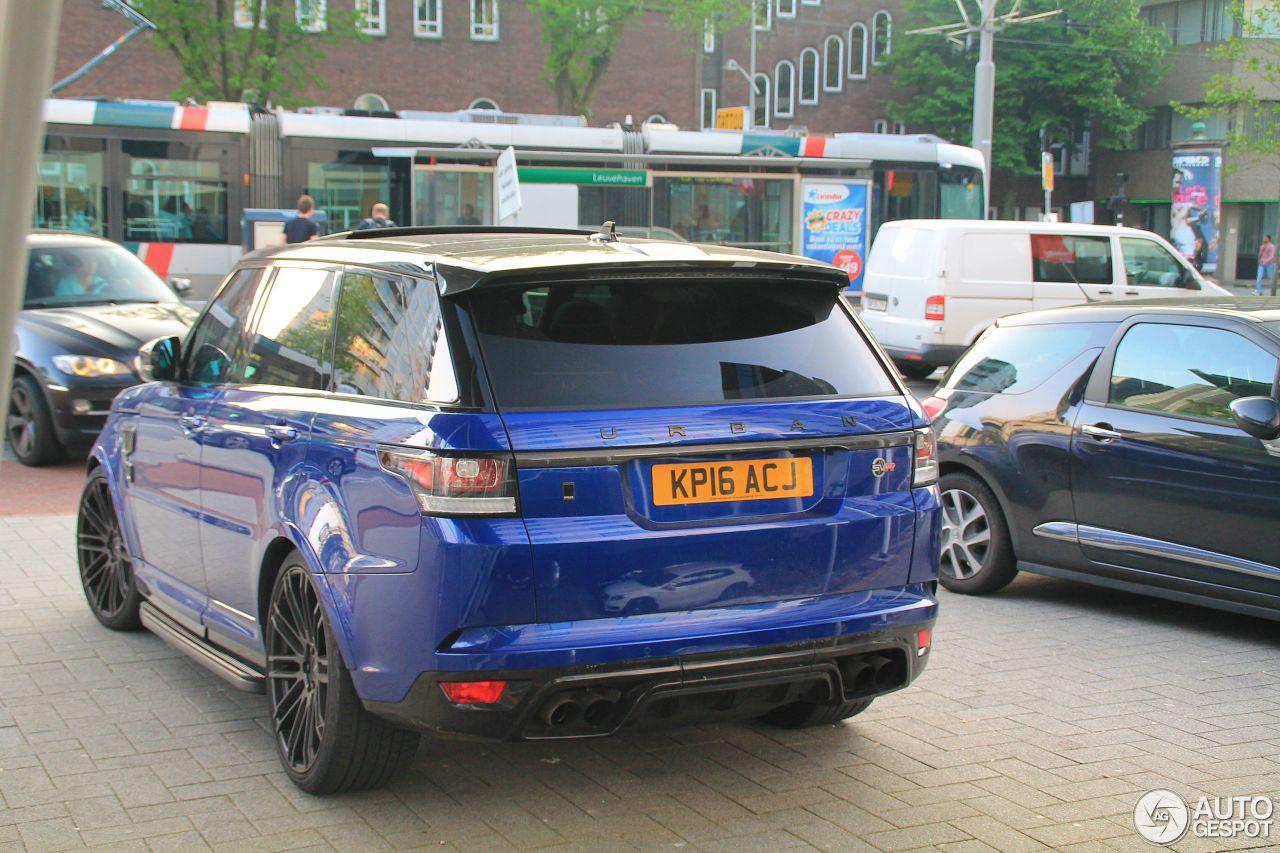 Land Rover Urban Range Rover Sport SVR - 27 May 2016 ...