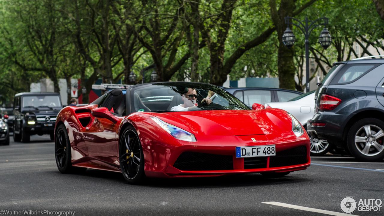 Ferrari 488 Spider 28 May 2016 Autogespot