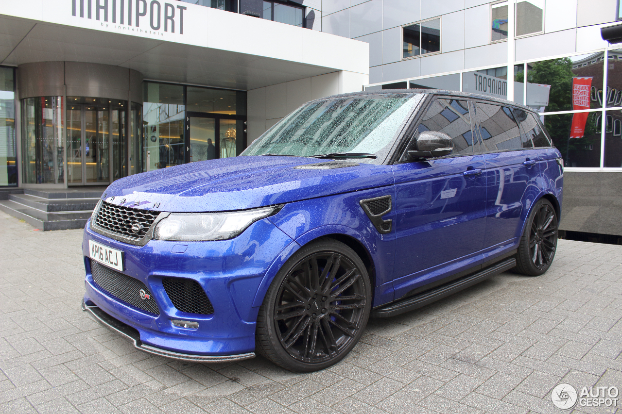 Land Rover Urban Range Rover Sport Svr 28 May 2016