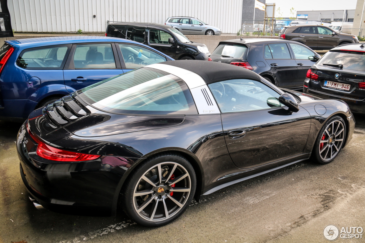 porsche 991 targa 4s 28 may 2016 autogespot. Black Bedroom Furniture Sets. Home Design Ideas