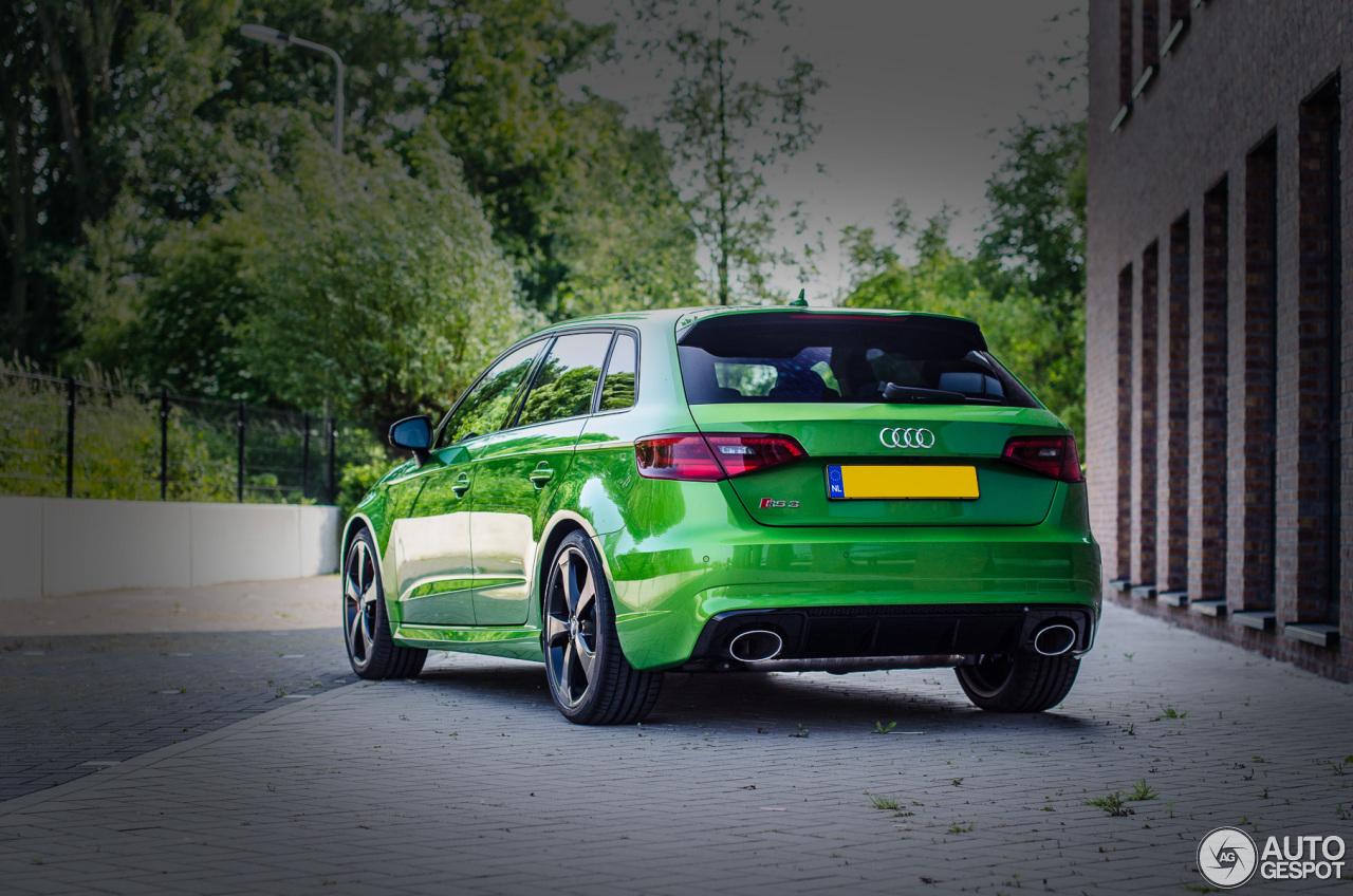 Matte Grey Car >> Audi RS3 Sportback 8V - 29 May 2016 - Autogespot