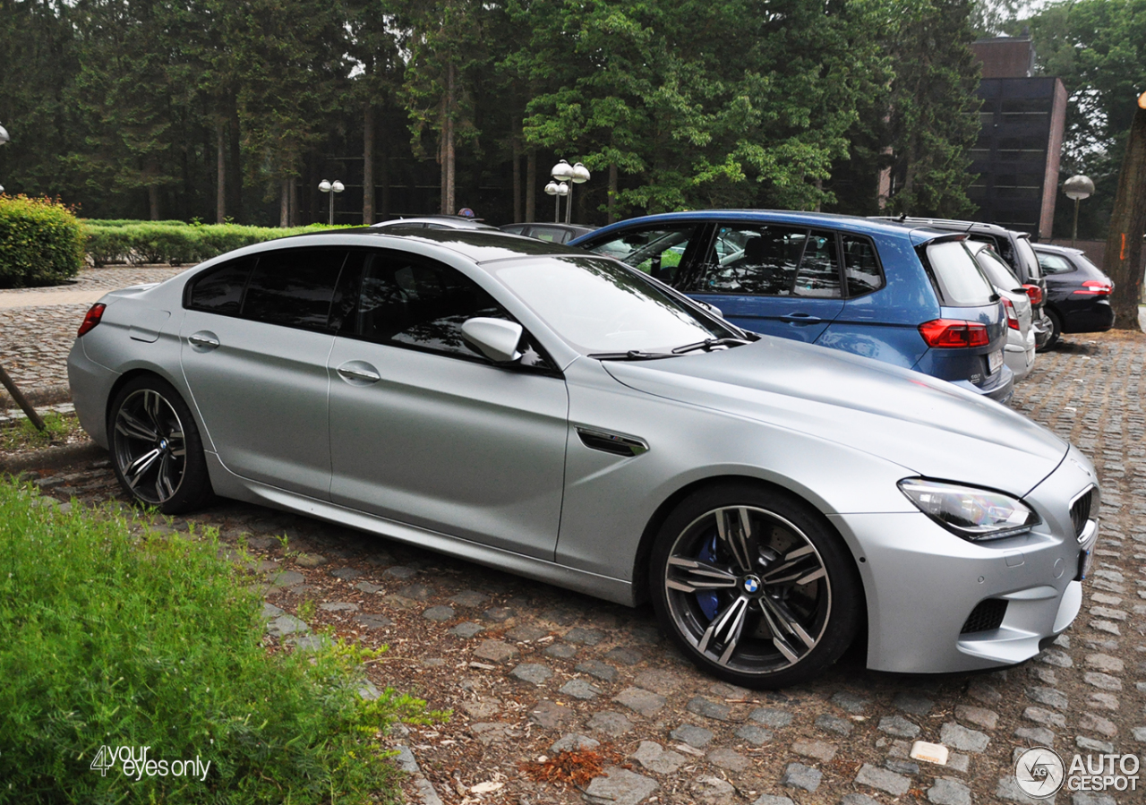 bmw m6 f06 gran coup 29 may 2016 autogespot. Black Bedroom Furniture Sets. Home Design Ideas