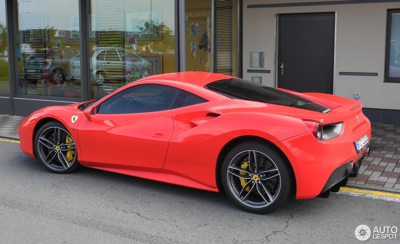 ferrari 488 gtb 29 may 2016 autogespot. Black Bedroom Furniture Sets. Home Design Ideas